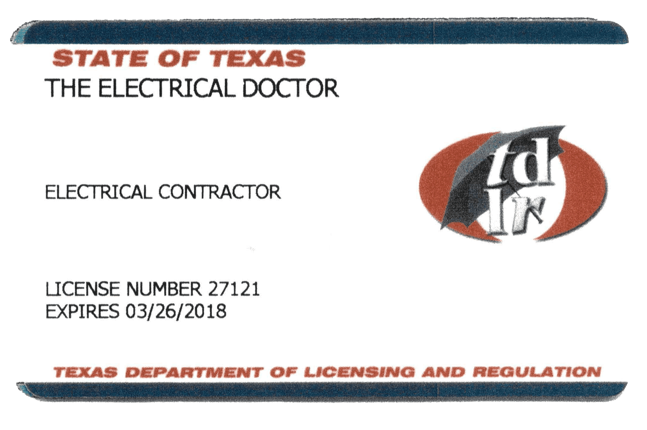 Electrical Doctor licensed electrician